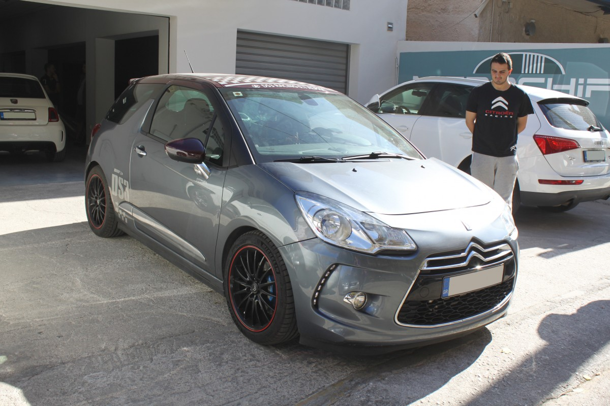 Microchips Tuning | Citroen DS3 1.6L THP Hybrid setup 235ps / 334Nm